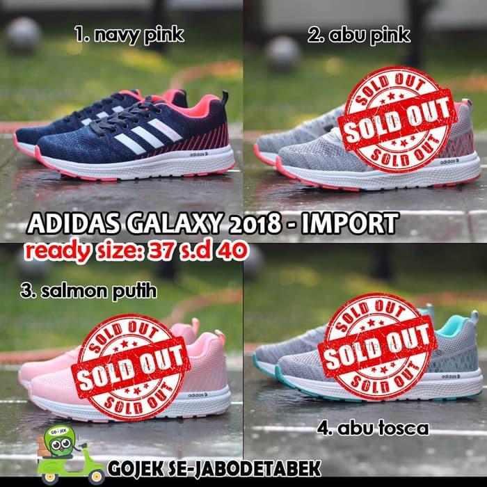 36051b22fe9f sepatu running adidas tabung galaxy 2017 navy pink cewek woman import  vietnam 36-40 free box adidas