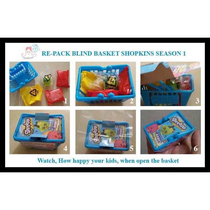 Shopkins Season 1 Shopping Basket Shopee Indonesia