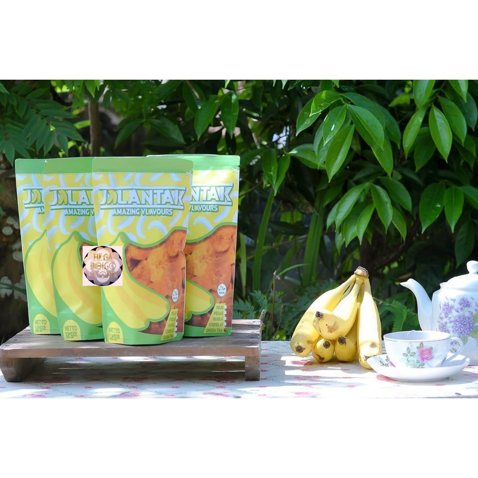 Everything Banana Roasted Garlic Chips Shopee Indonesia Chinos Coklas Cokelat Talas Premium 110gr