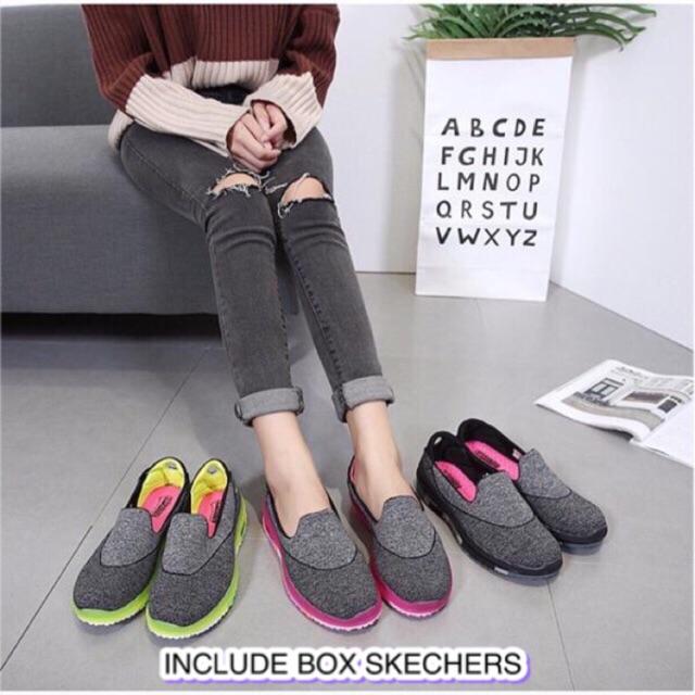 Sepatu Skechers Women Go Flex  a880d23edb