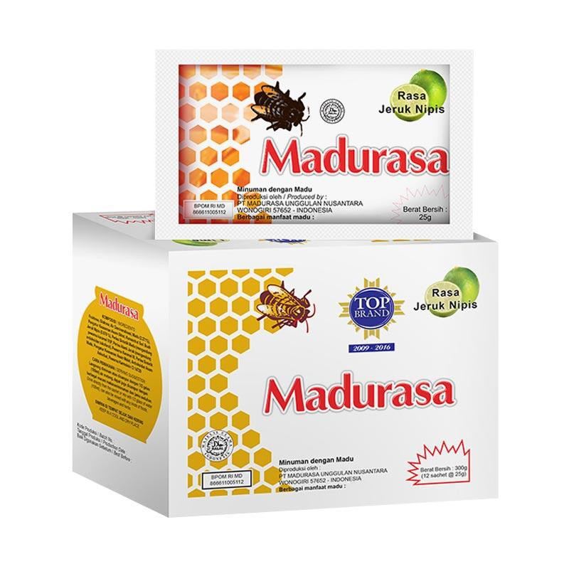 Madurasa Jeruk Nipis 1 Sachet 25 Gr Shopee Indonesia