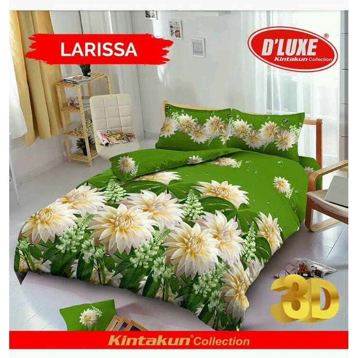 Kintakun Bed Cover D'luxe - 180 x 200 (King) - Singing Owl | Shopee Indonesia