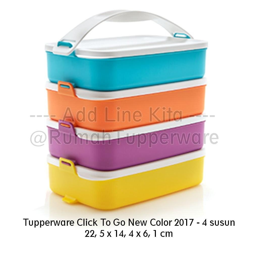 Tall Summer Fresh Tupperware Toples Kotak Makanan Tempat Kue Large 4pcs 18l Multi Colour X7995 Shopee Indonesia