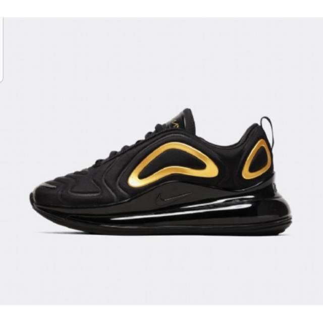 Nike Air Max 720 Black Gold Shopee Indonesia