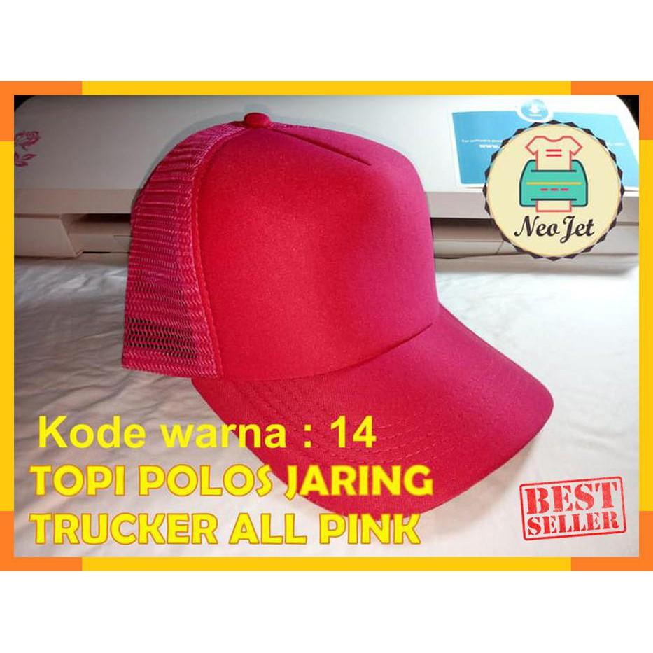 Topi bucket hat dewasa polos bolak balik 2 warna warni tebal premium pria  wanita unisex  fa20c73867