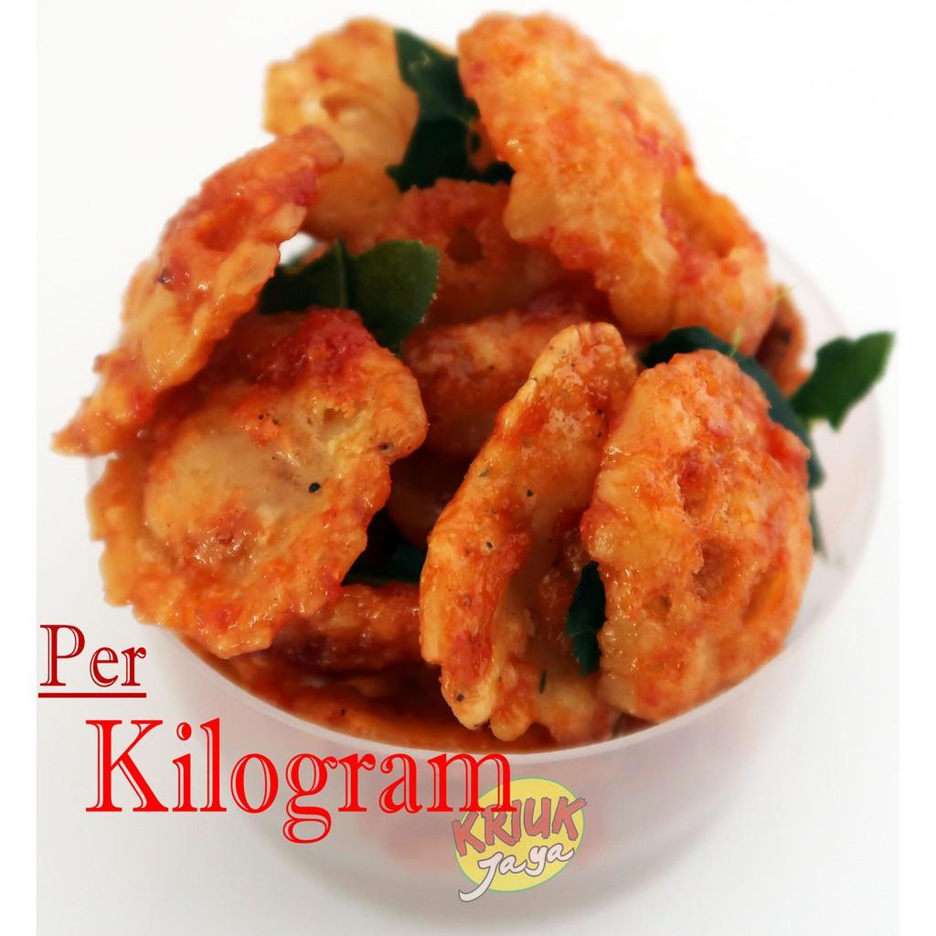Emping Melinjo Belinjo Kecil Pedas Daun Jeruk Hot Chilli Chips Njo Premium 500 Gram 250 Shopee Indonesia