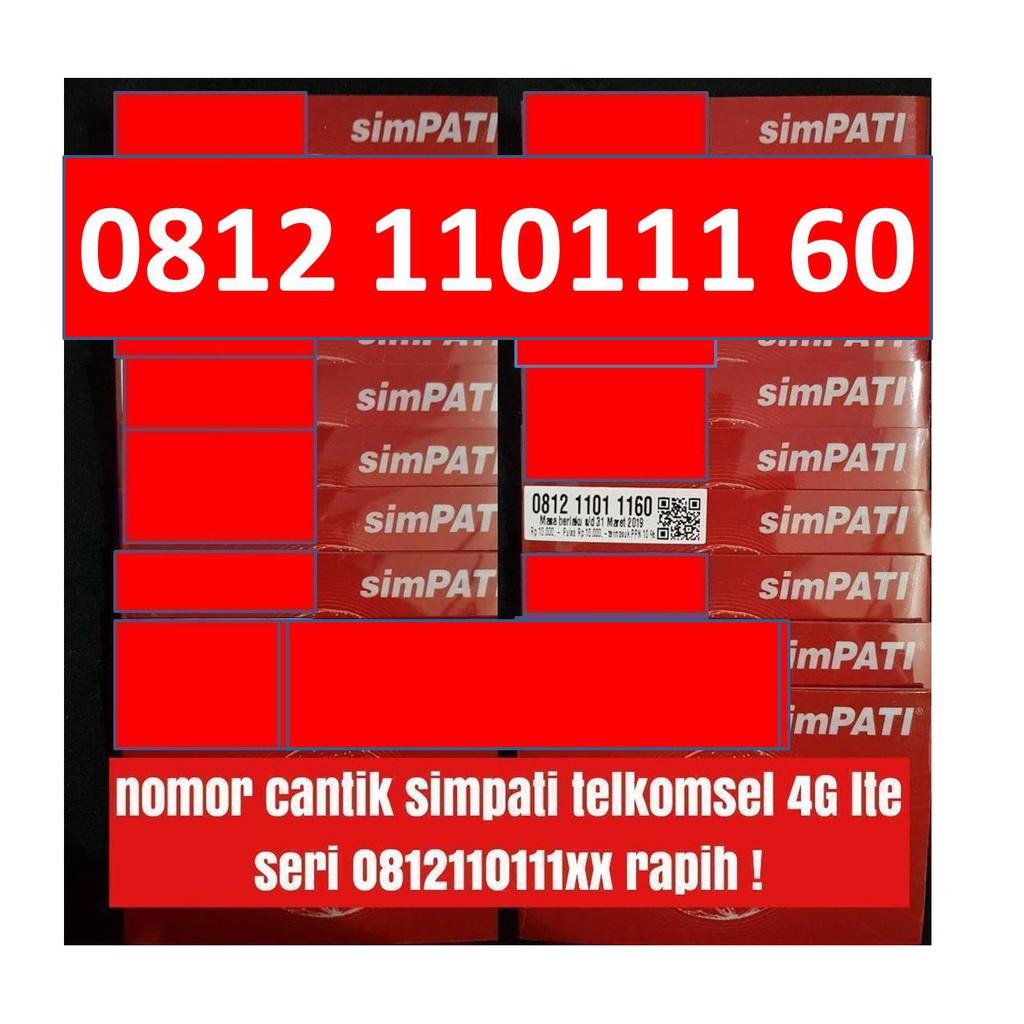 nomer cantik seri tahun simpati telkomsel 4G kartu perdana harga obral | Shopee Indonesia