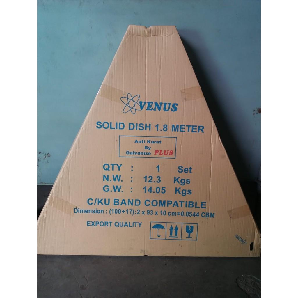 Antena Parabola Venus Solid Dish 6 Feet diameter 1.8 meter Galvanis