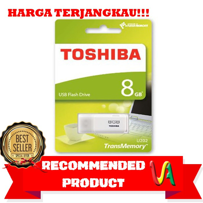 Toshiba Flashdisk 32GB ORIGINAL / Flash Disk - Flash Drive | Shopee Indonesia