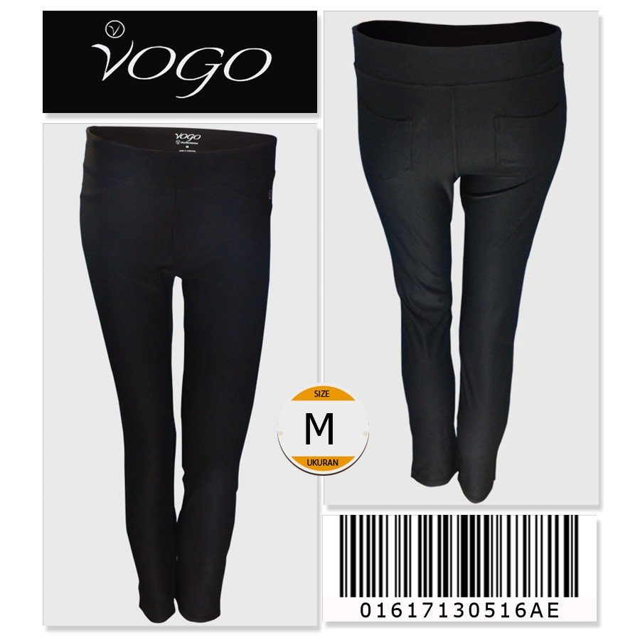 Vogo Workout Leggings With Back Pockets Details 01617130516ae Size M Tumblr Shopee Indonesia