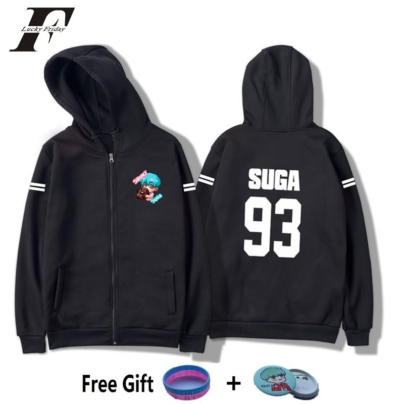 LUCKYFRIDAYF 2018 BTS kpop harajuku 3D Print hoodie Kaus Wanita pria  moletom k-pop Idola korea  fcd42fc214