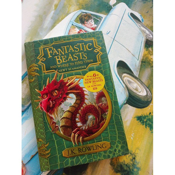 harry potter fantastic beasts and where to find them jk