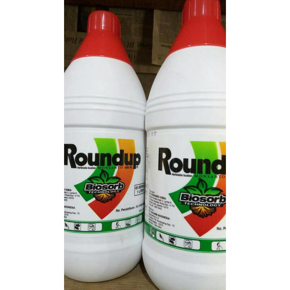 Harga Promo Roundup 4ltr Round Up Racun Rumput Gulma Shopee Pembasmi 486 Sl Herbisida Indonesia