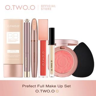 O.Two.O 7pcs set Brush Kosmetik Makeup Full Face Untuk Sehari-Hari thumbnail