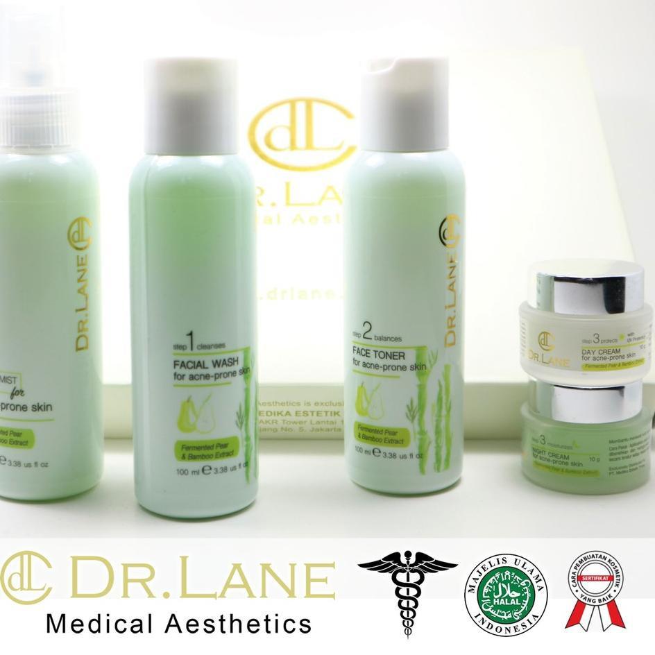 Terbaik Dr Lane Starter Paket Acne Series Skincare Kulit Berjerawat Dan Berminyak Bpom Shopee Indonesia