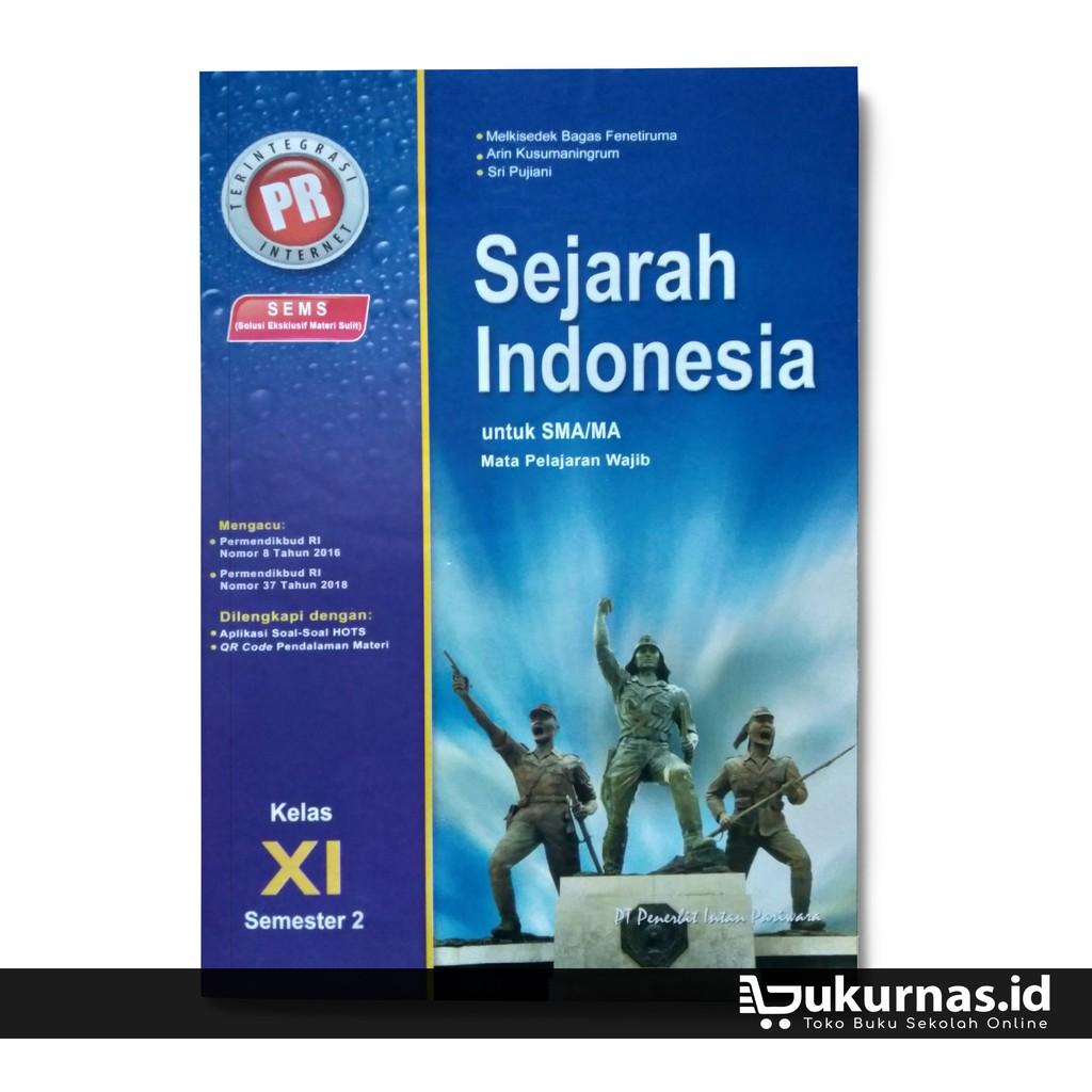 Buku Lks Sejarah Kelas 11 Semester 2 Mapel Wajib K13 Intan Pariwara Shopee Indonesia