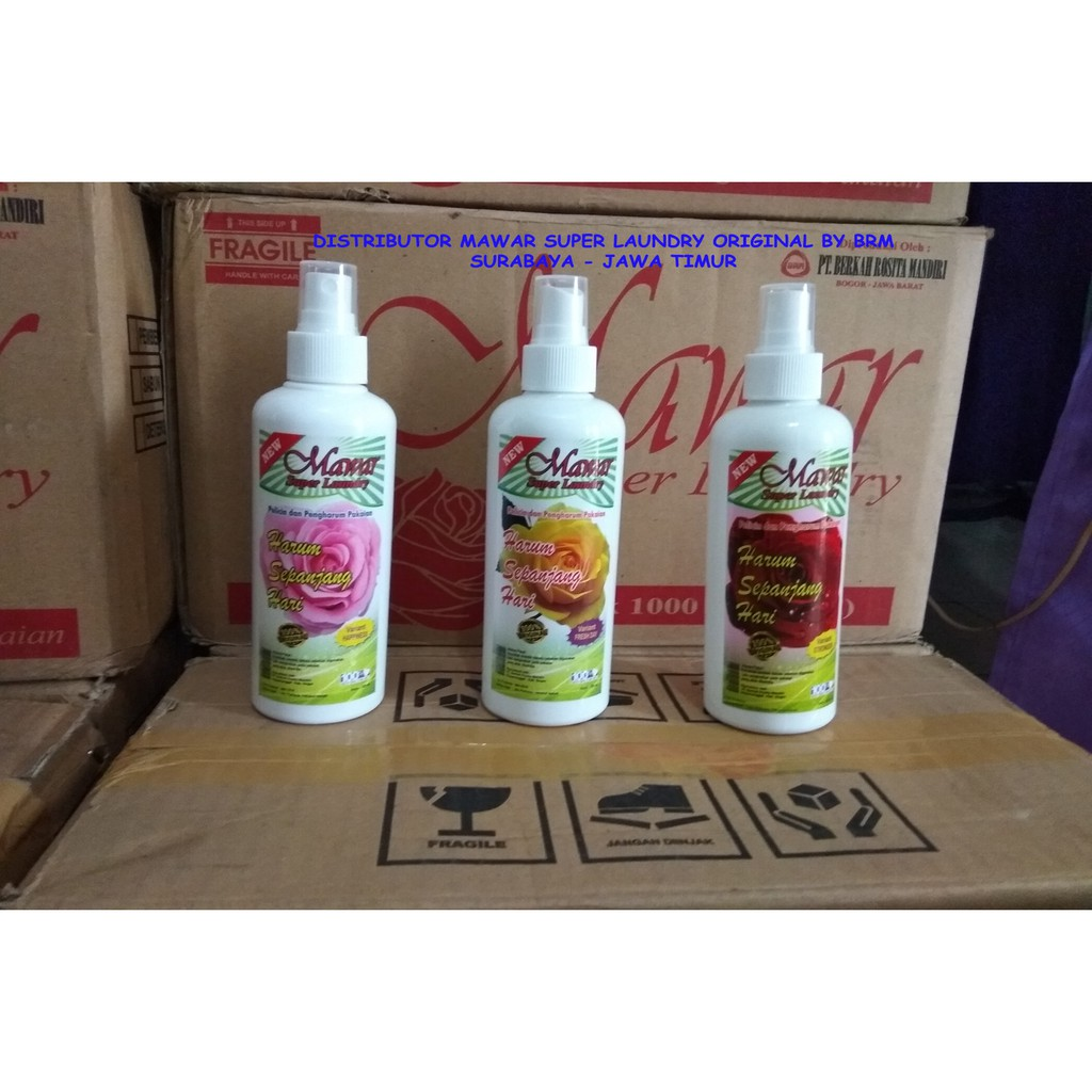 Pelicin Dan Pewangi Mawar Super Laundry Original By Pt Berkah Rosita Mandiri Shopee Indonesia