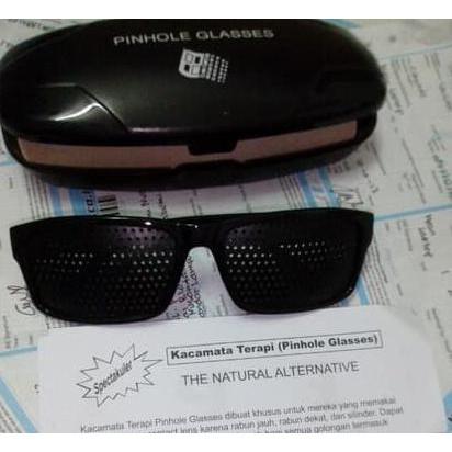 EXTREME SALE Kacamata terapi pinhole TP 01 plus box  66d01dd25b