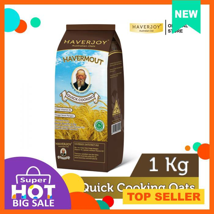 Quick Rolled Oats 500g (Instant Oat Seduh / Havermout 500gr | 500 g gr gram) | Shopee Indonesia