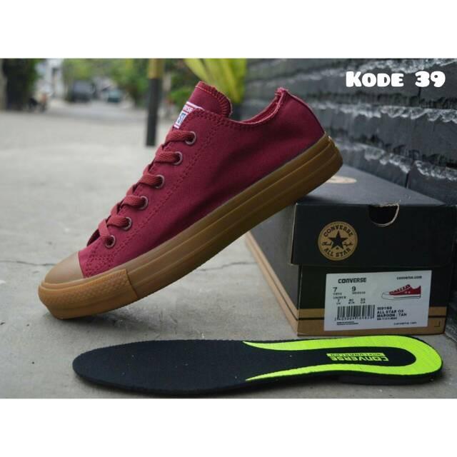 PROMO DISKON!! Sepatu Converse Allstar Chuck Taylor Pria Army Gum Size 38  43 Grade Original Quality  233e16f152