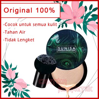 SUNISA Mushroom Head Air Cushion CC Cream Bedak Tahan Air (175ml 1 Kg 7 Pcs) thumbnail