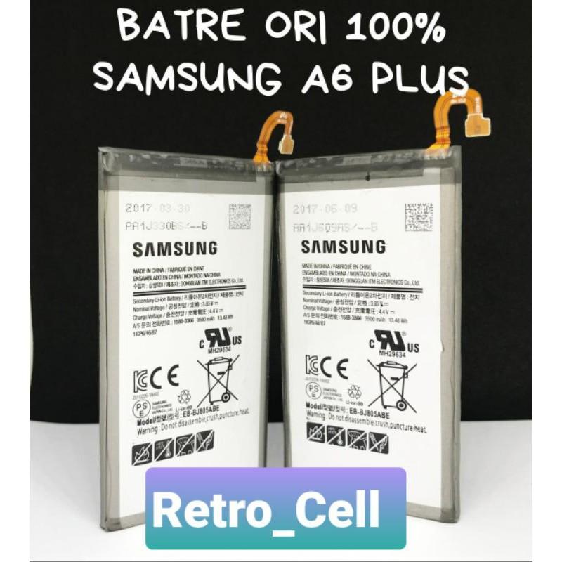 Batre Samsung A6 plus Baterai Samsung A6plus Samsung A6+