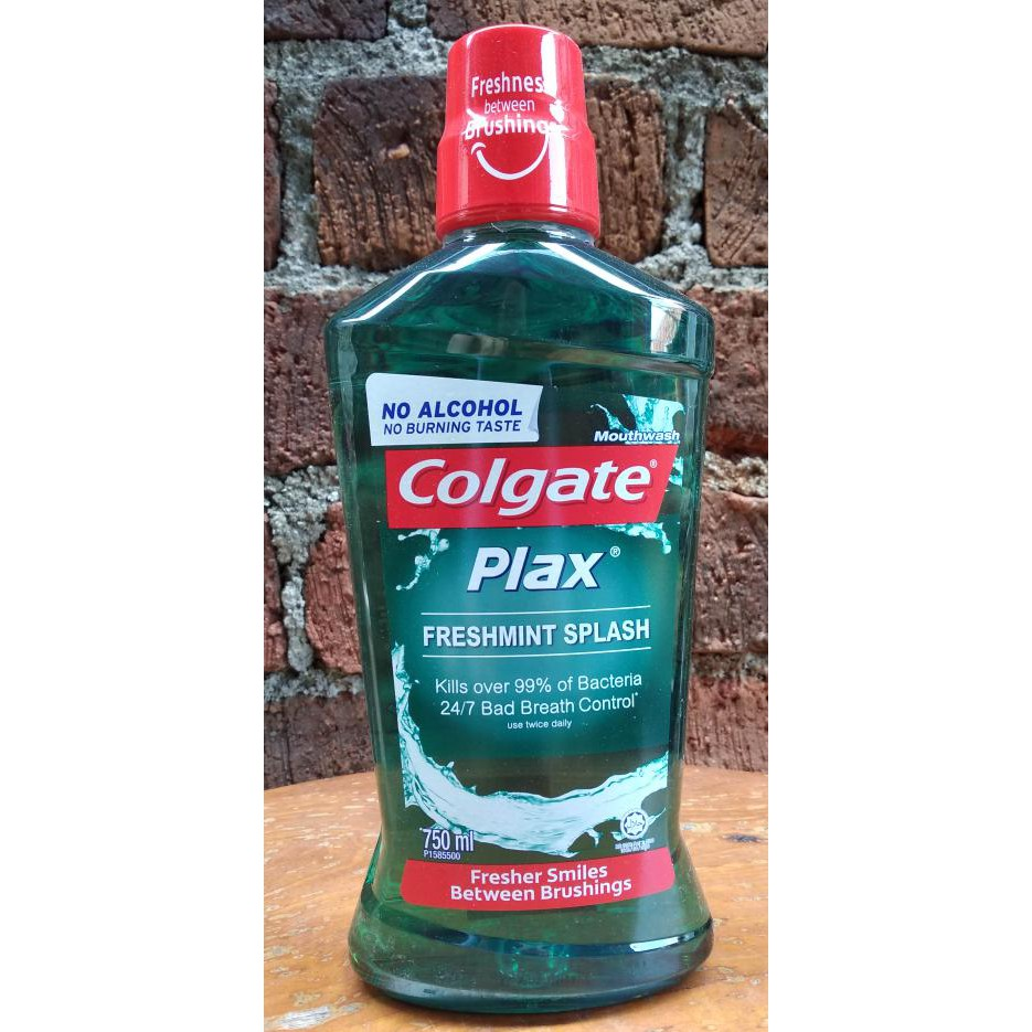 Colgate Mouthwash Plax Fresh Mint 250ml Shopee Indonesia Mw Peppermint Cool 180gr