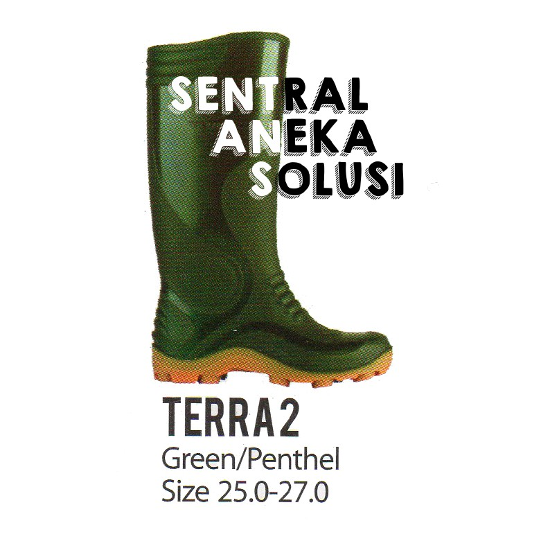 ap boots terra2 sepatu boot konstruksi terra 2 hijau green penthel ... f12e776c3f