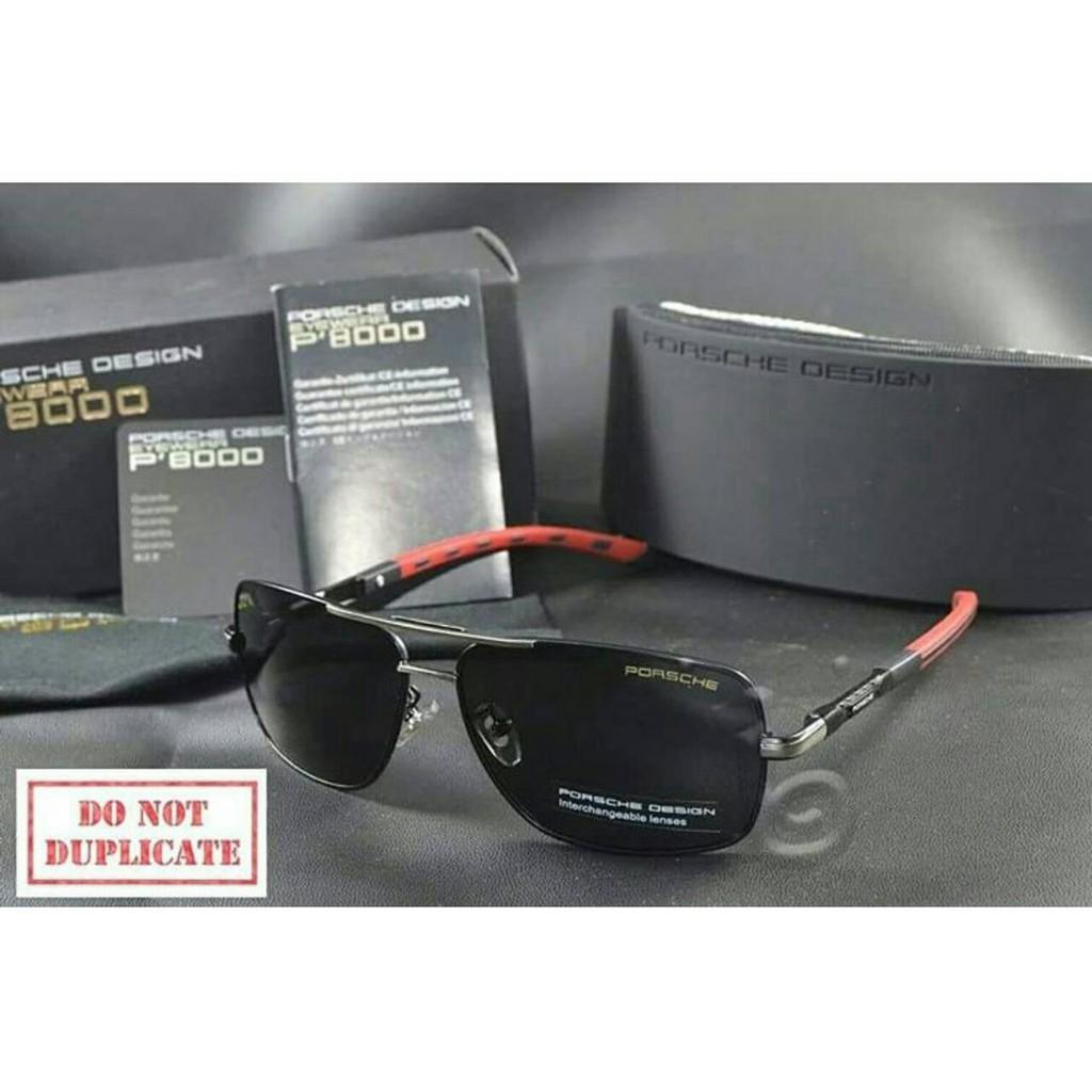 592d4cabec8c kacamata porsche design p8724 black red