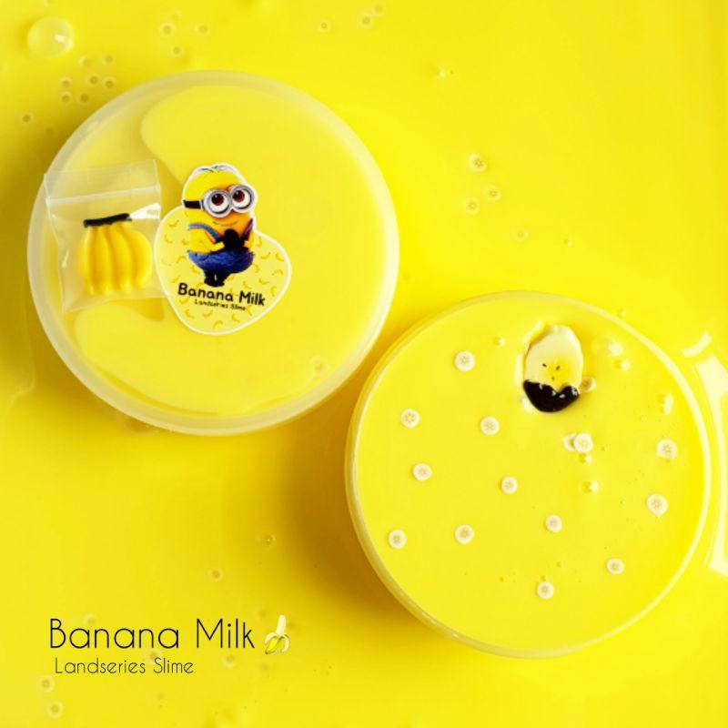 Banana Milk | Original Slime by Landseries Slime