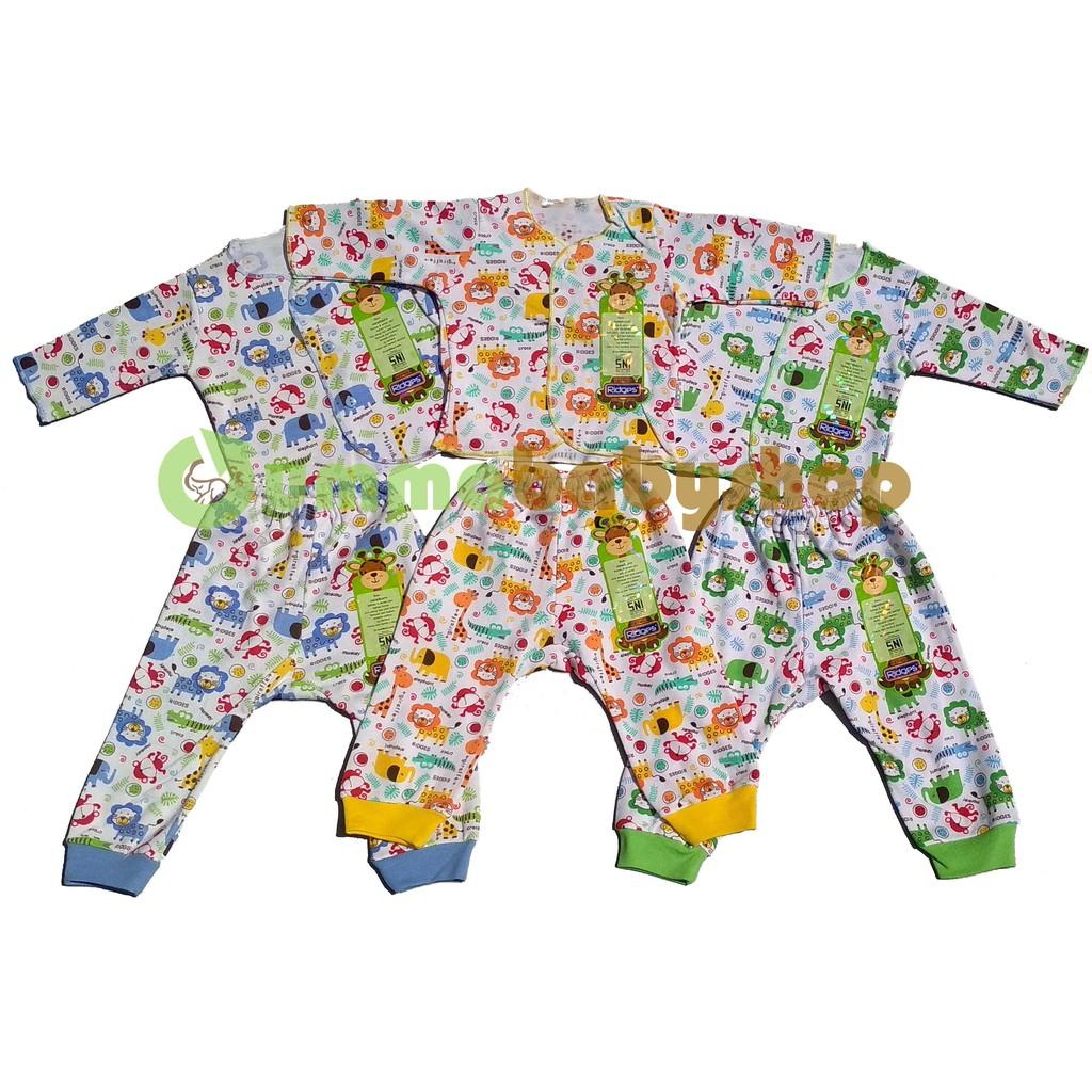 Bearbee Setelan Lengan Panjang Celana Newborn 3set Spec Baju Pendek Ampamp 3 Set Pasang 6pcs