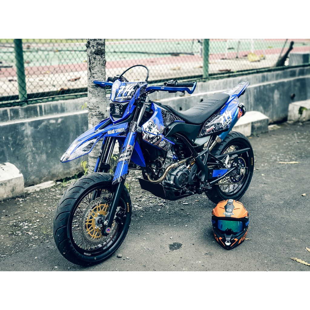 decal WR 155 supermoto full