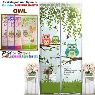 [ OWL - BURUNG HANTU ] TIRAI MAGNET ANTI NYAMUK MOTIF OWL