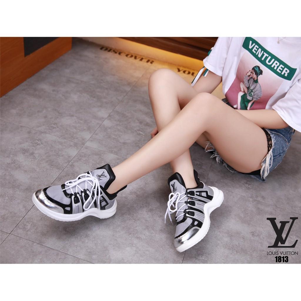 2b5b57ce89b SEPATU Louis Vuitton Disruptor Shoes 1813 TM 15 impor batam reseler murah  wedges sport cantik
