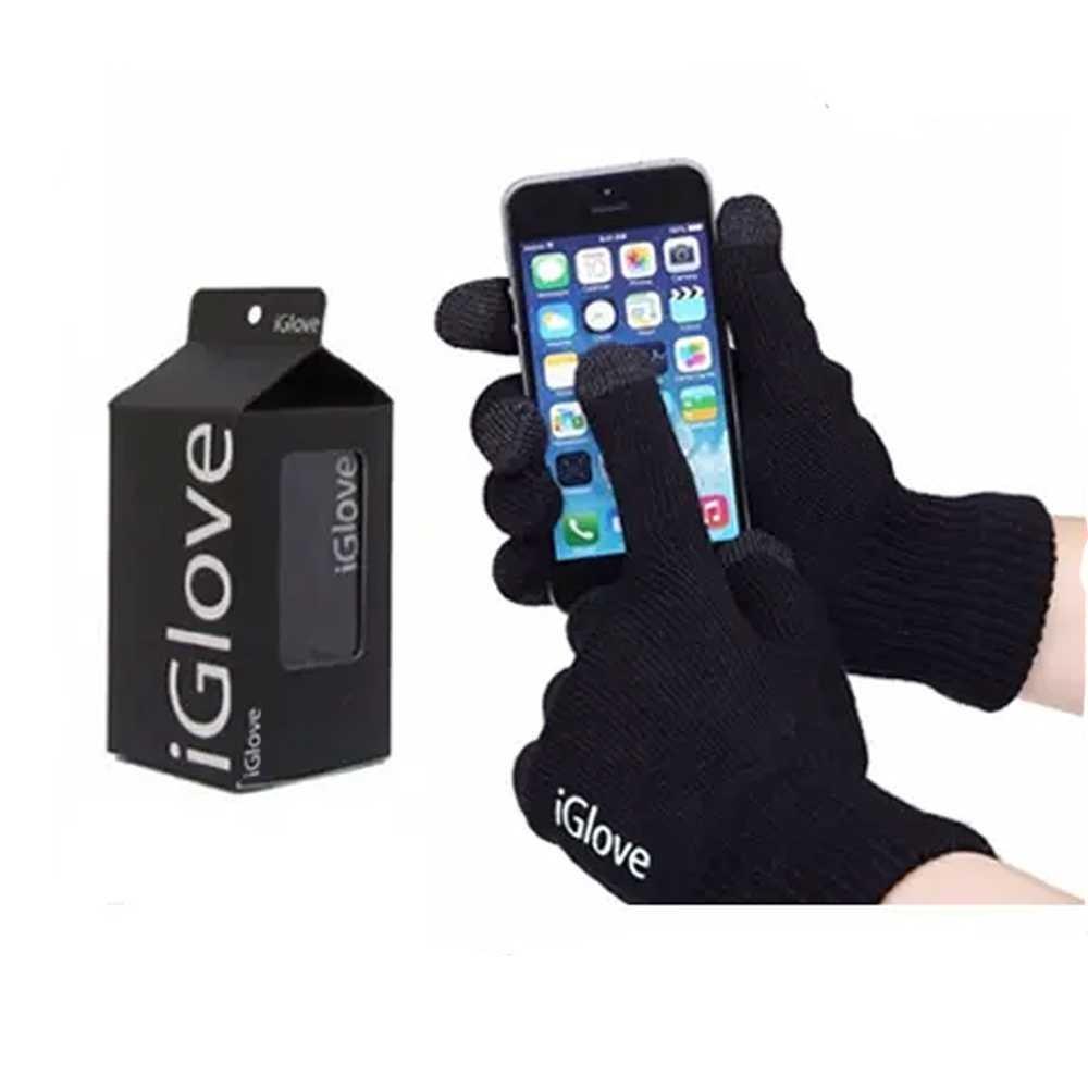 Iglove Touch Gloves For Smartphones Tablet Sarung Tangan Motor Screen Smartphone Hp Lazada Co Id Source Musim Dingin Bisa Lembut Warna Hitam