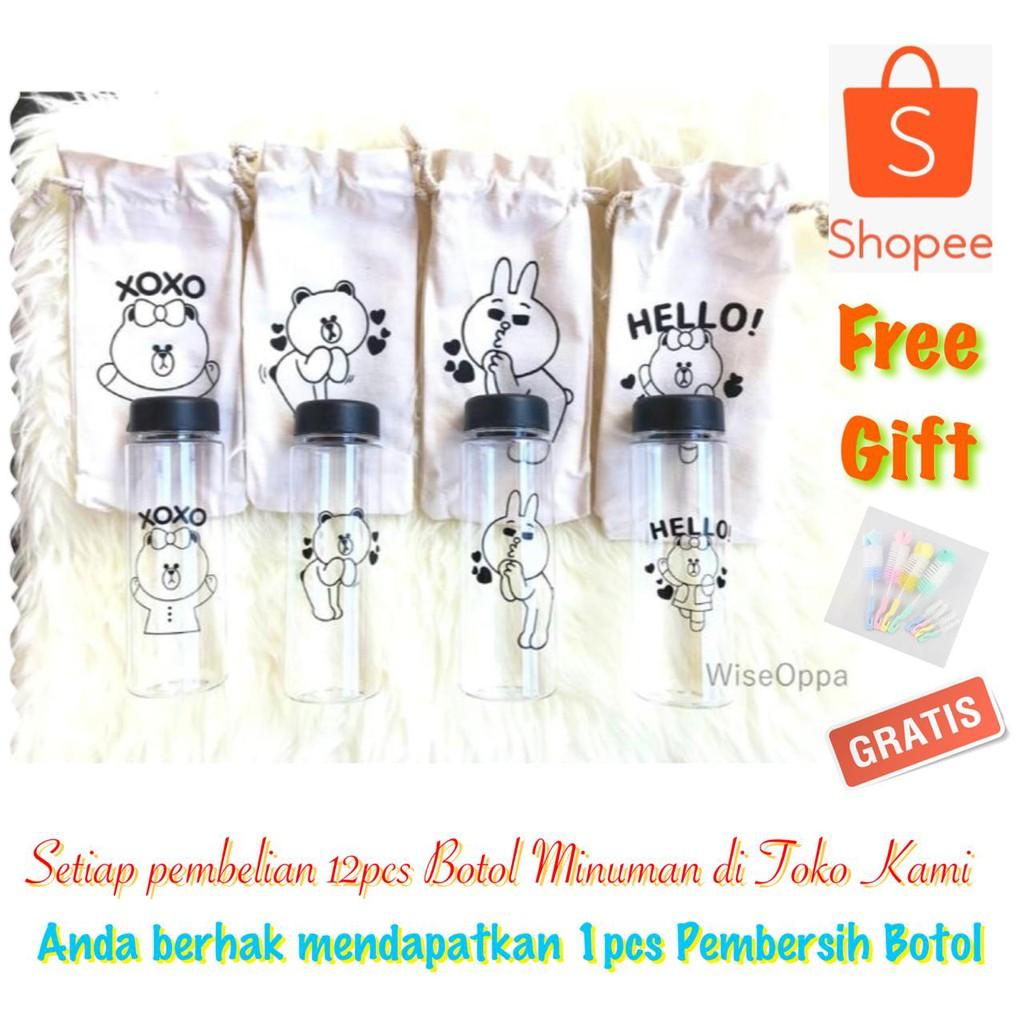 14pcs 1kg Pc My Bottle Garansi Tidak Pecah Bpa Free Gratis Pouch Botol Minuman 500ml Sama Bubblewarp Shopee Indonesia