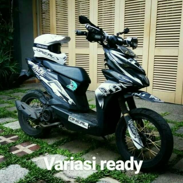 Handguard Pelindung Stang Fast Bikes Beat Street X Ride Motor Lainnya Shopee Indonesia