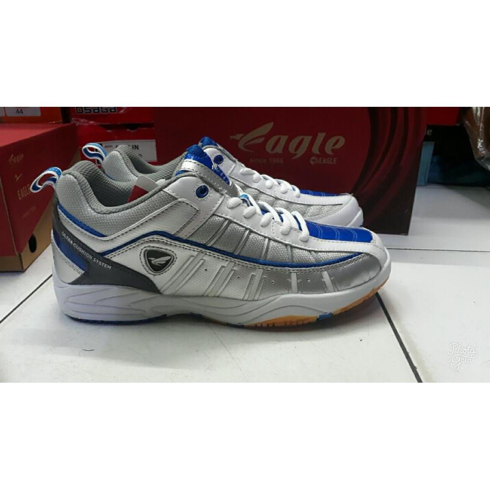 Sepatu Olahraga Bulutangkis Eagle Skynet Badminton Shoes Original Hart Hs 303 Ctroen Blue Shopee Indonesia