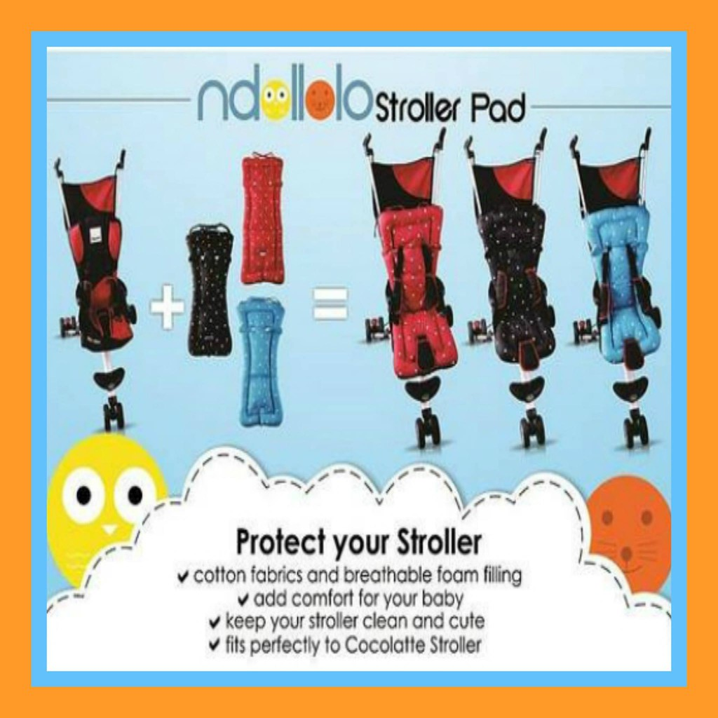 Alas Stroller Cocolatte Ndololo Pad Shopee Indonesia Isport 9m