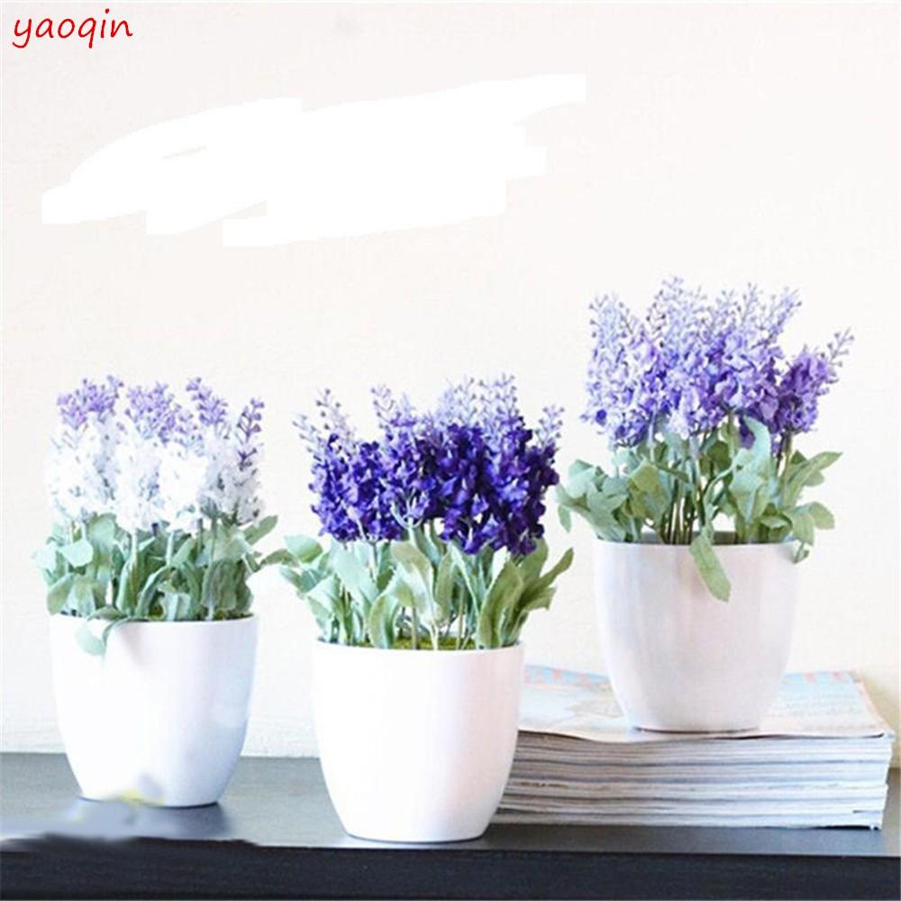 Bunga Lavender Buatan Tangan Dengan 10 Kepala Bunga Untuk Dekorasi Pernikahan Shopee Indonesia