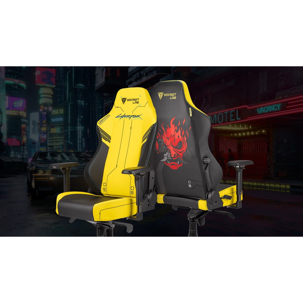 Secretlab Titan 2020 Cyberpunk 2077 Gaming Chair Kursi Gaming Leather Pu Prime Shopee Indonesia
