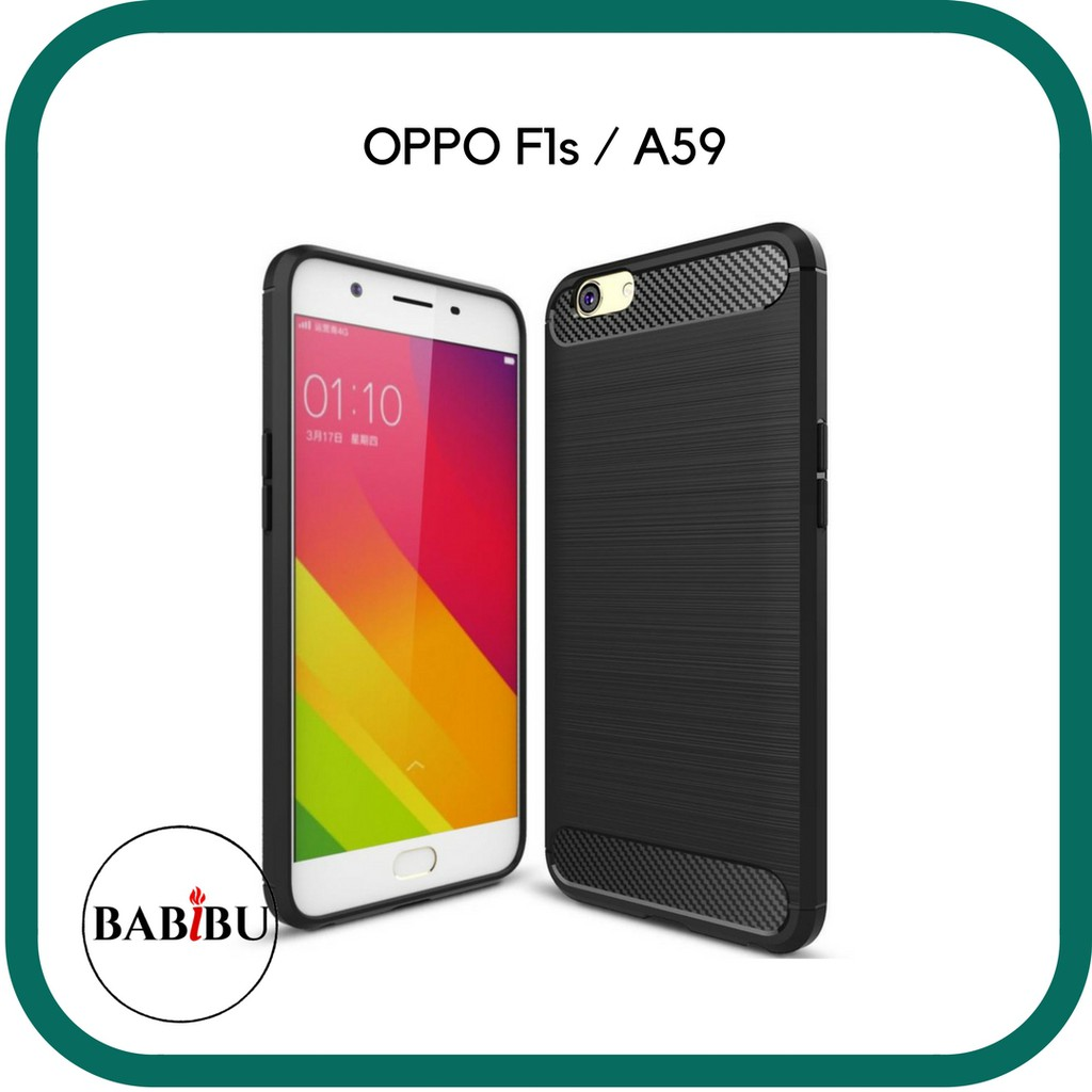 on sale ac3c9 5bac1 Case OPPO F1s / A59 iPaky Soft Carbon