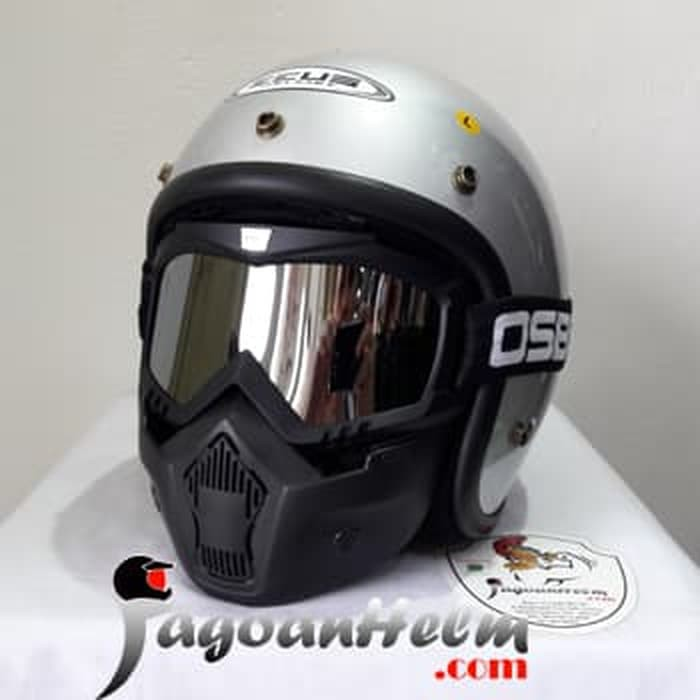 ZEUS Helm ZS385 SOLID ZS-385 Import ZS 385 RETRO Classic | Shopee Indonesia