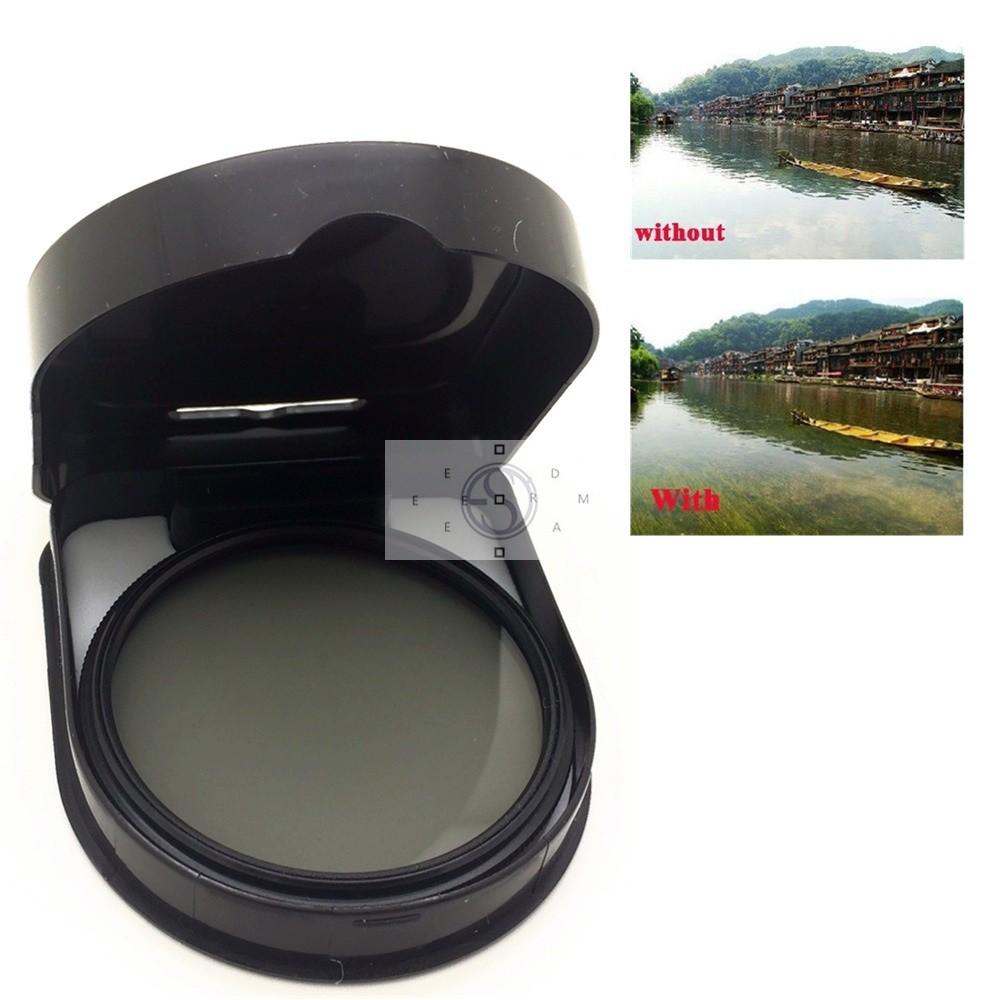 Cpl Filter Lensa Polarizer Bulat Untuk Filter Polarizer