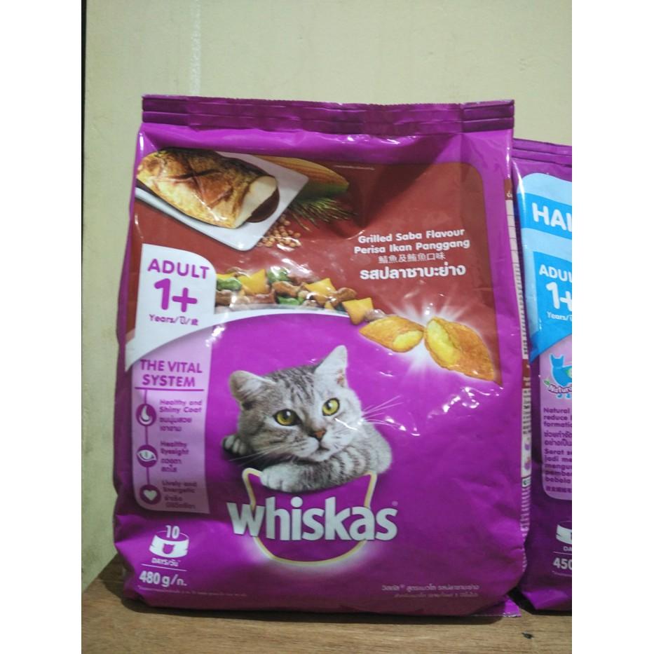 Isi 6 Pack Whiskas Pouch 85gr Makanan Kucing Basah Rasa Grilled Sheba Melty 48gr Tuna Seafood Saba Shopee Indonesia