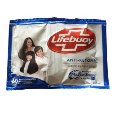 SS Lifebuoy Shampoo Sachet Anti Ketombe Kuat Berkilau Sampo 9 ml Saset-ANTIKETOMBE, NOPROMO