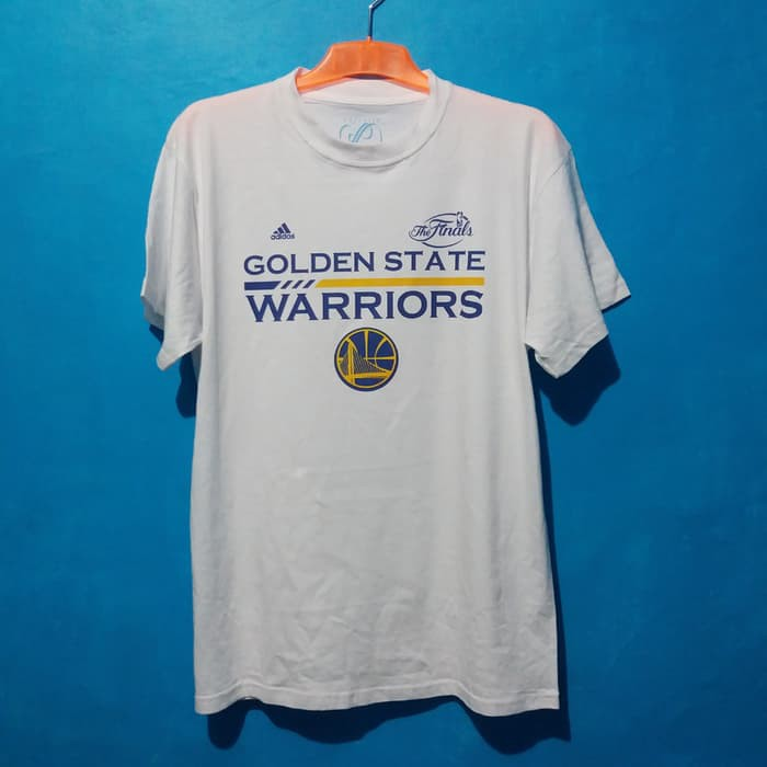 100% authentic 63ea2 9d9fe Murah Kaos Baju Basket IMPORT - Golden State Warriors - Putih S High Class
