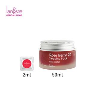 Langsre Rose Berry 70 Sleeping Pack Sample 2ml 2