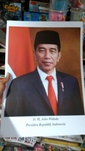 Poster Presiden Dan Wakil Presiden Poster Jokowi Ma Ruf Amin Shopee Indonesia