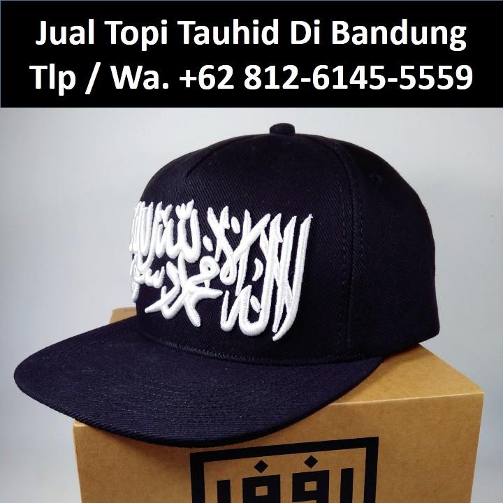 Promo Topi Tauhid Di Bandung Kualitas Premium Topi Dakwah Snapback Tauhid  6dd67e9774